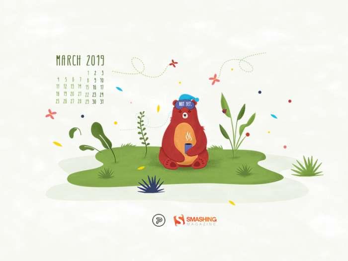 25 creativos fondos multipantalla, 8 con el calendario de marzo 2019