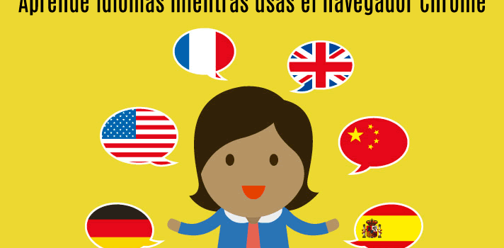Aprende idiomas mientras usas el navegador Chrome