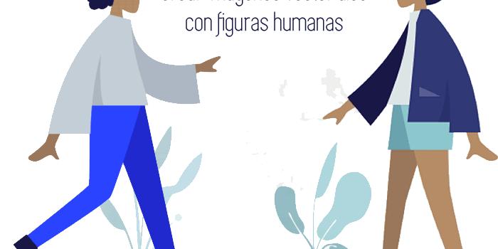 Herramienta gratuita para crear imágenes vectoriales con figuras humanas