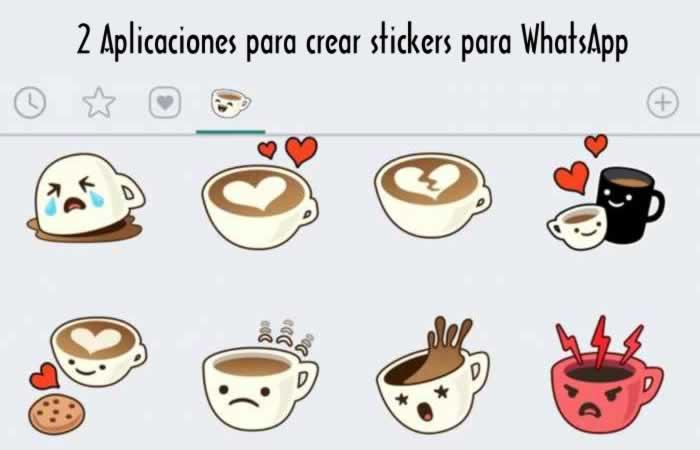2 Aplicaciones para crear stickers para WhatsApp