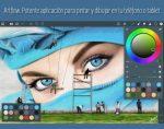 ArtFlow. Potente aplicación para pintar y dibujar en tu teléfono o tablet