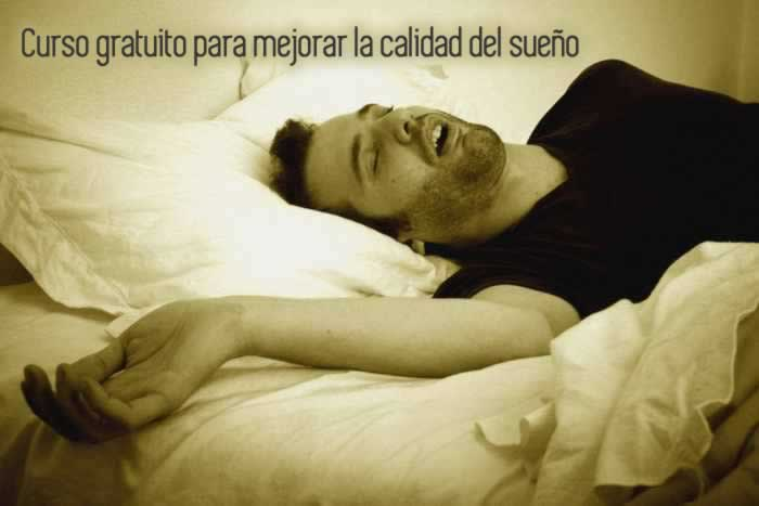 Curso gratuito para mejorar la calidad del sueño