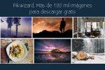 Pikwizard. Más de 100 mil imágenes para descargar gratis