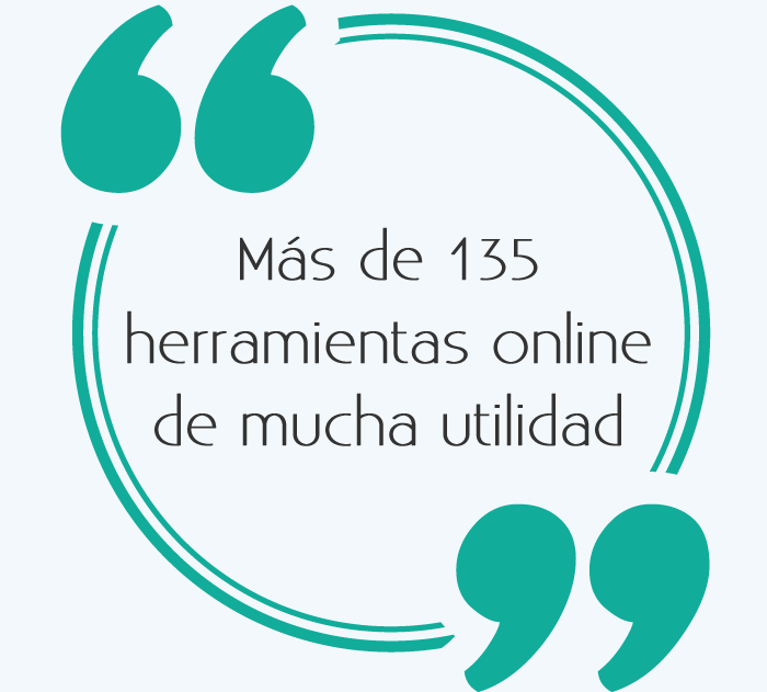 Más de 135 herramientas online de mucha utilidad