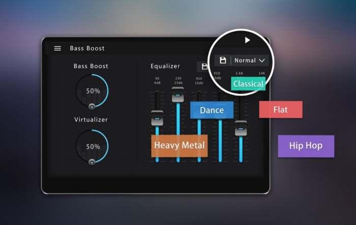 Bass Booster. Ecualizador y refuerzo de bajos para Android
