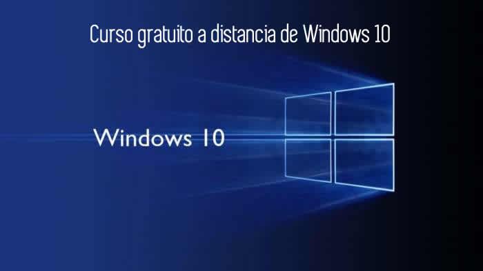 Curso de Windows 10 gratuito y a distancia