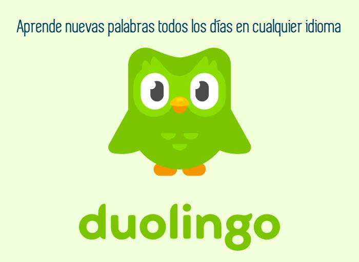 Aprende nuevas palabras todos los días en cualquier idioma
