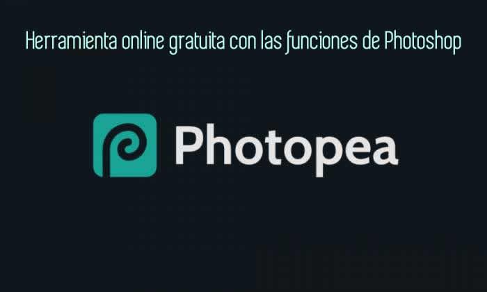 Herramienta online gratuita con las funciones de Photoshop