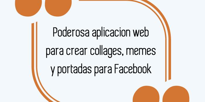 Join. Poderosa aplicacion web para crear collages, memes y portadas para Facebook. Actualizado