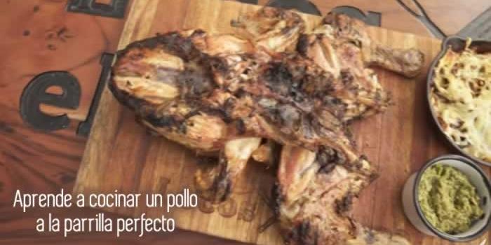 Aprende a cocinar un pollo a la parrilla perfecto