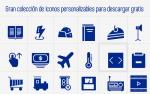 Gran colección de iconos personalizables para descargar gratis