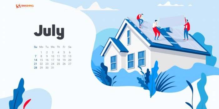 34 espectaculares fondos multidispositivo, con y sin el calendario de julio 2019