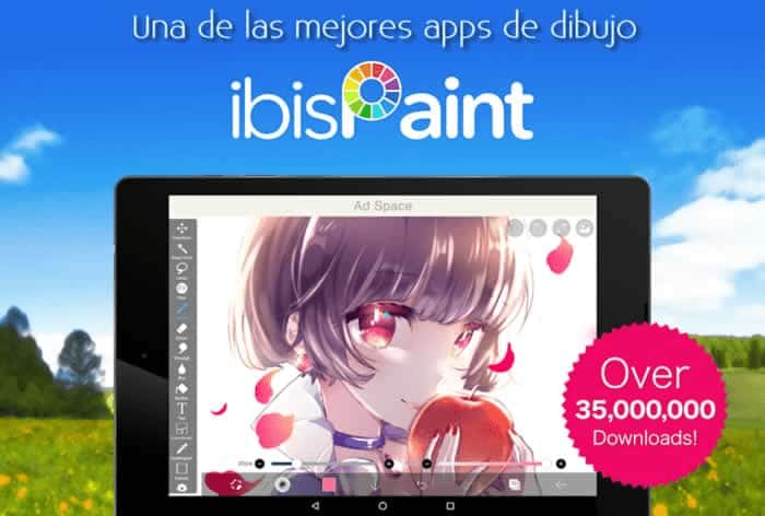 ibis Paint X. Una de las mejores apps de dibujo