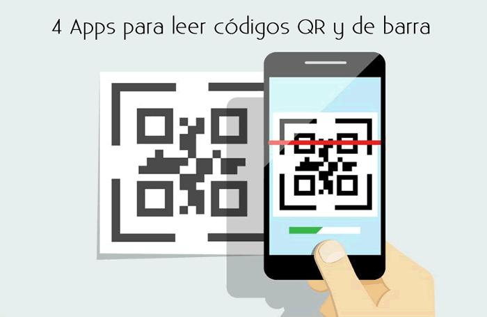 4 Apps para leer códigos QR y de barra
