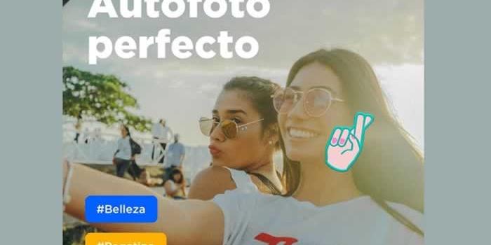 Con Candy Camera podrás obtener las selfies más hermosas