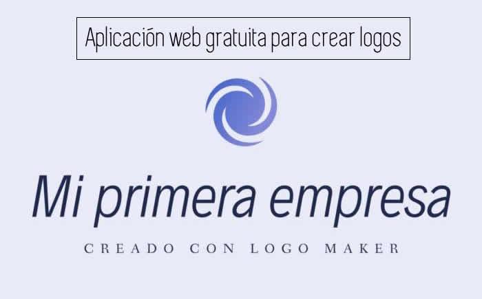 Aplicación web gratuita para crear logos para tu web, empresa o proyecto