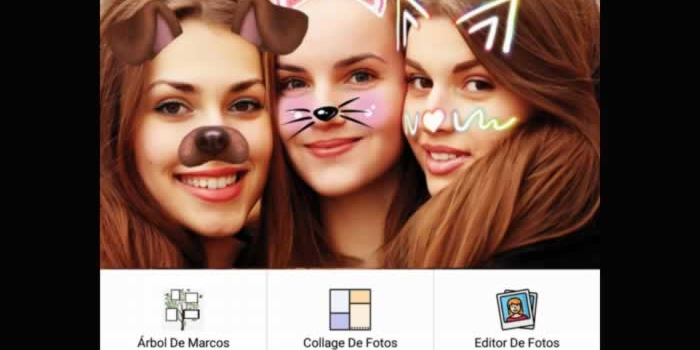 Potente editor para colocar marcos y hacer collages con tus fotos