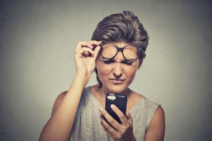 Mejora el uso del móvil a personas con problemas de visión