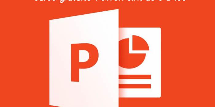 Curso online gratuito: PowerPoint de 0 a 100