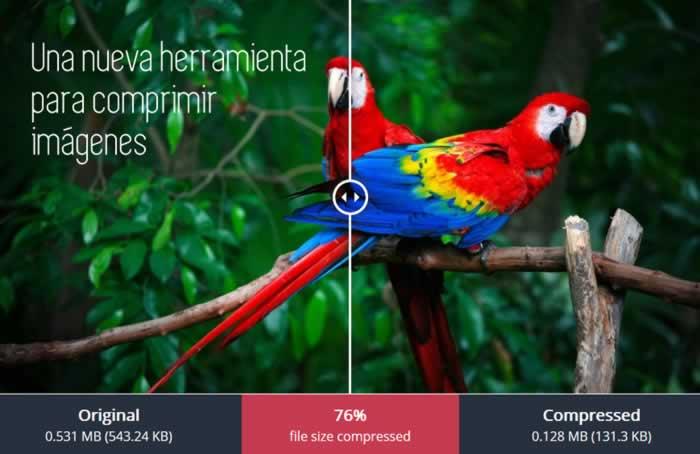 Una nueva herramienta para comprimir imágenes