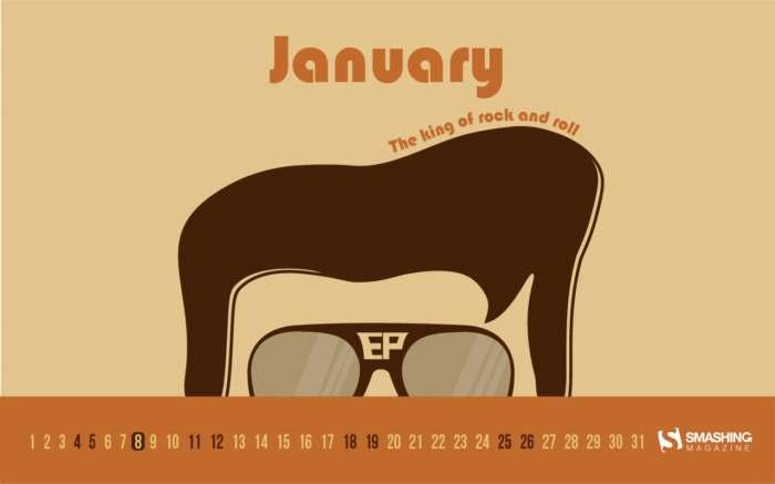 Fondos con calendario enero 2020 + fondos de arte digital y abstracto