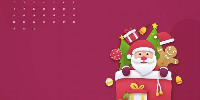 Fondos con calendario diciembre 2019 + fondos de series de TV