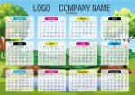 Más calendarios creativos para descargar e imprimir