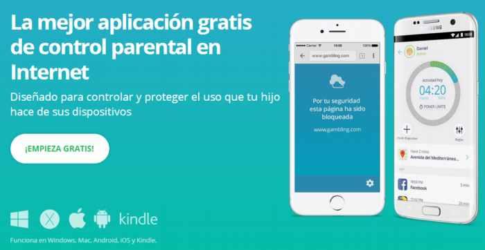 Una completa herramienta multiplataforma de control parental