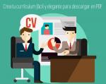 Crea tu currículum fácil y elegante para descargar en PDF