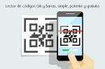 Lector de códigos QR y barras, simple, potente y gratuito