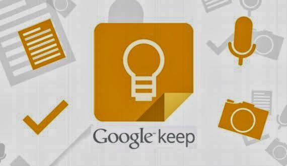 Google Keep. Agrega notas de texto y voz con recordatorios, listas y fotos