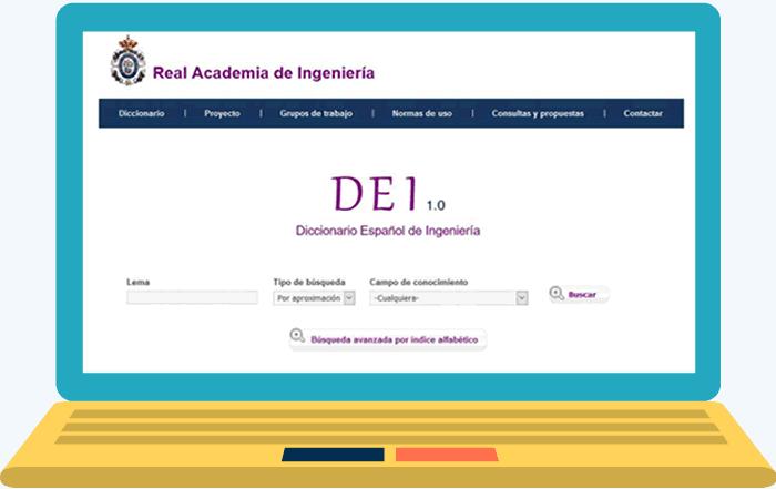 DEI. El diccionario de la Real Academia de Ingeniería