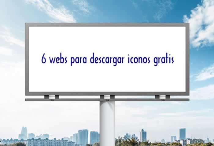 6 webs para descargar iconos gratis