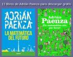14 libros de Adrián Paenza para descargar gratis. Actualizado