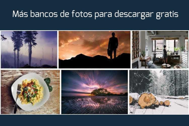 Más bancos de fotos para descargar gratis