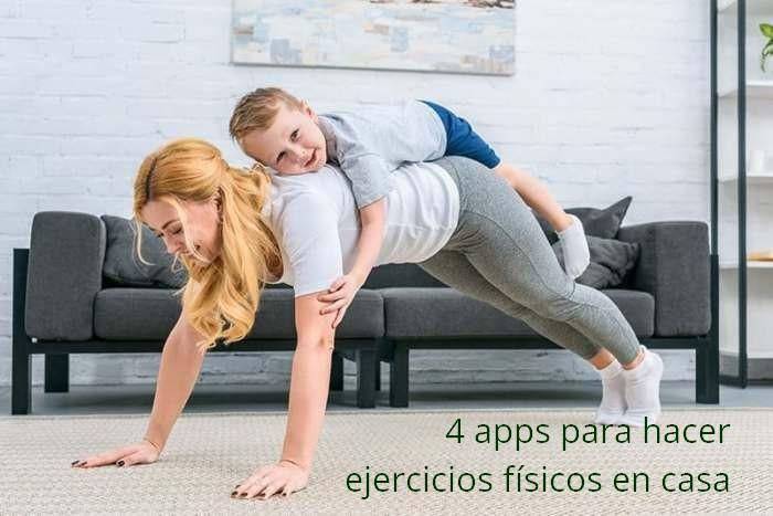 4 apps para hacer ejercicios físicos en casa