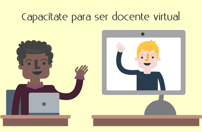 Capacítate para ser docente virtual