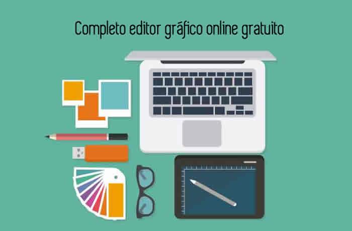 Completo editor gráfico online gratuito