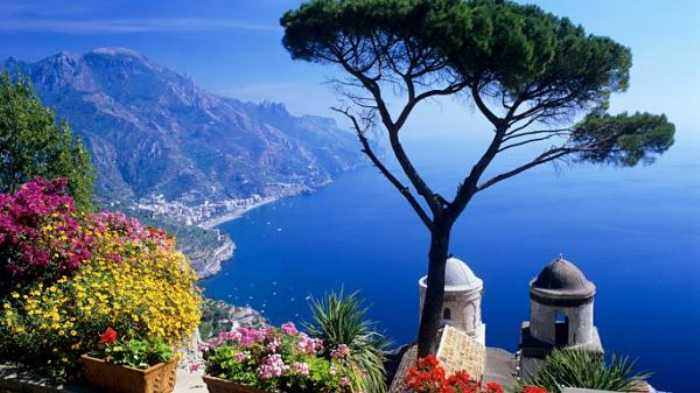 Caminata virtual por Ravello, Italia