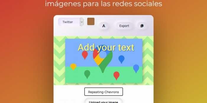 Aplicación web para crear atractivas imágenes para las redes sociales