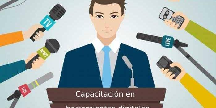 Capacitación en herramientas digitales para periodistas