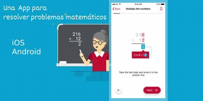Photomath. Una App para resolver problemas matemáticos – iOS y Android