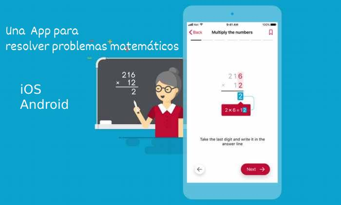 Photomath. Una App para resolver problemas matemáticos - iOS y Android