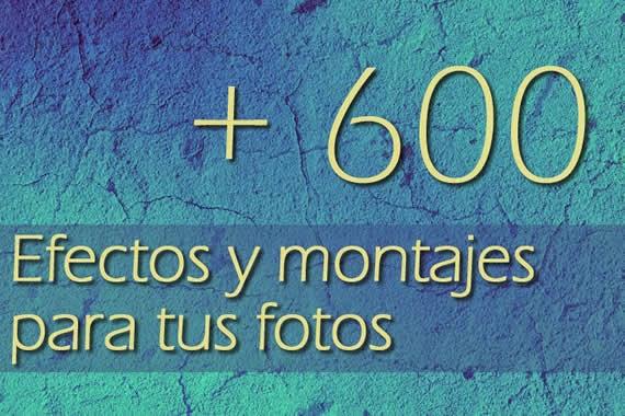 Más de 800 efectos y montajes gratuitos para fotos. Actualizado
