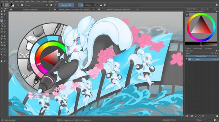 Krita - Herramienta profesional para dibujo digital gratuita