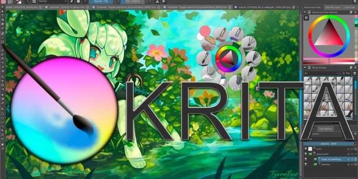 Krita – Herramienta profesional para dibujo digital gratuita 👨🎨