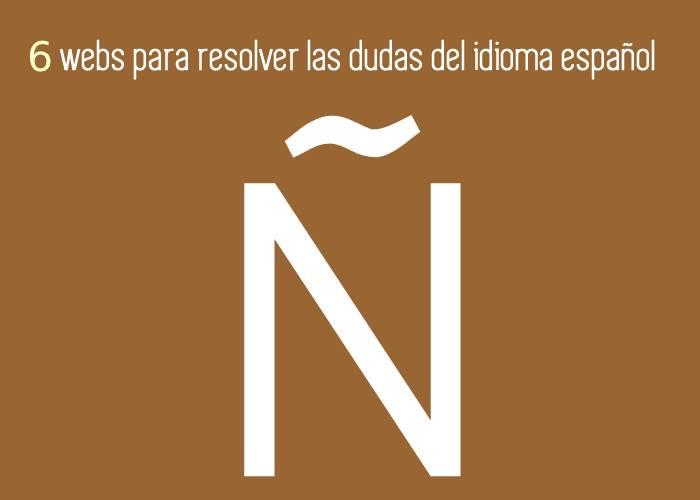 6 webs para resolver dudas del idioma español