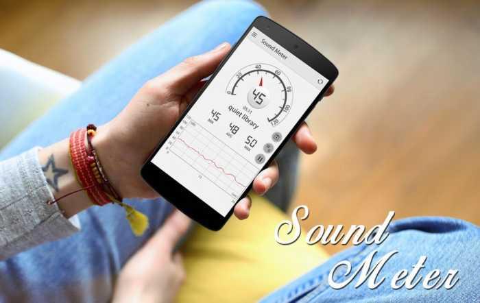 Un práctico medidor de nivel de ruido en tu teléfono