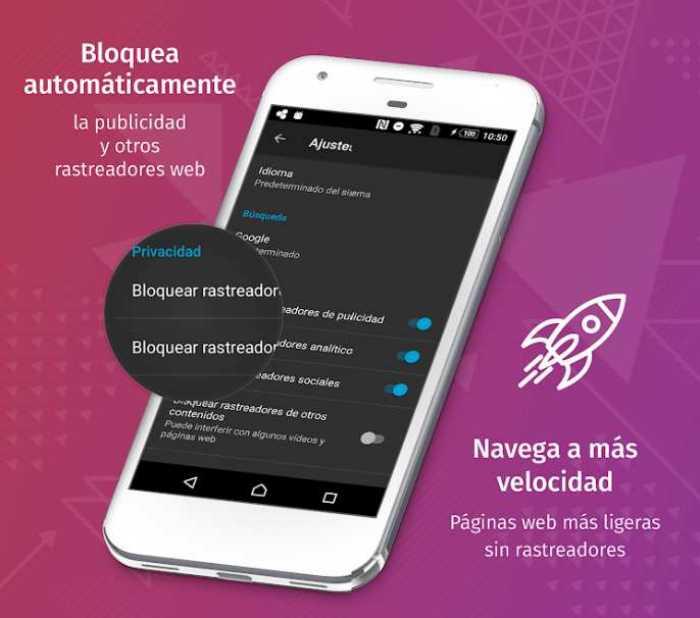 Firefox Focus - Un navegador para móviles, seguro, simple y muy rápido