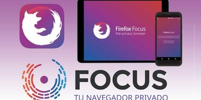 Firefox Focus – Un navegador para móviles, seguro, simple y muy rápido